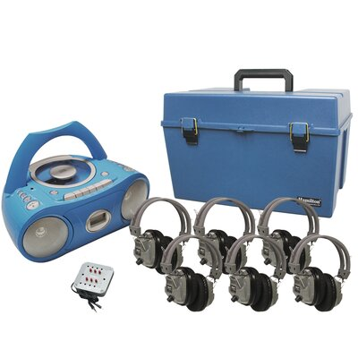 Deluxe Bluetooth/CD/Cassette Listening Centre HMC/CD385/6SV