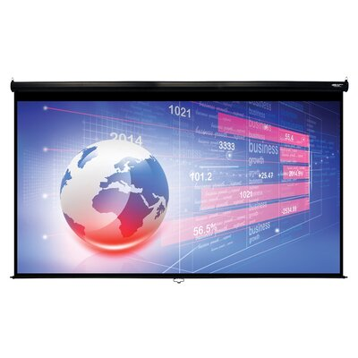 Matte White 150 Diagonal Manual Projection Screen