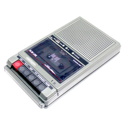 Cassette Recorder with 2 Jacks HA-802