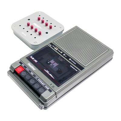Cassette Player with 8 Position Jack Box HA802-8V