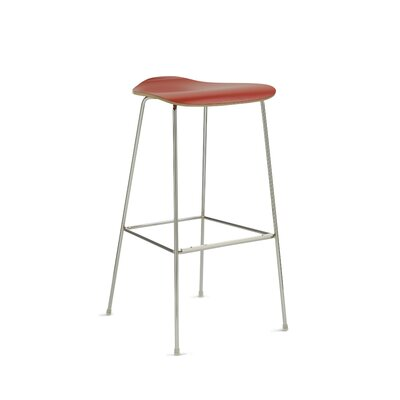 30 Bar Stool Upholstery: Red
