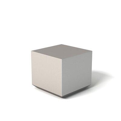 Feek Cube Ottoman Upholstery: Warm Gray