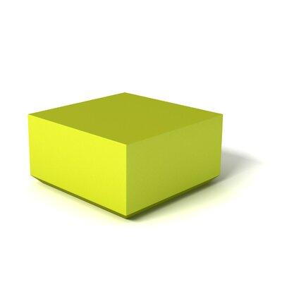 Feek Ottoman Upholstery: Lime Green