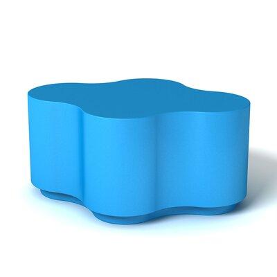 Feek Ottoman Upholstery: Blue
