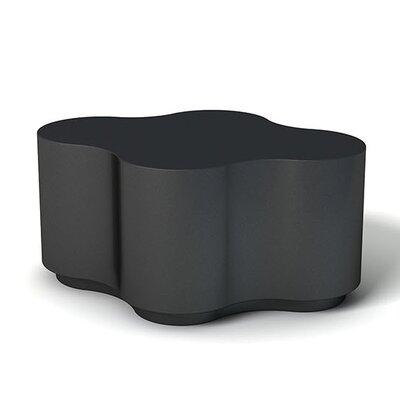 Feek Curvy Medium Ottoman Upholstery: Black