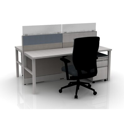 Capture 2 Person Bench Finish: Gray