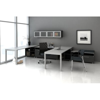 Trig Private L Shape Desk Office Suite Product Photo 756