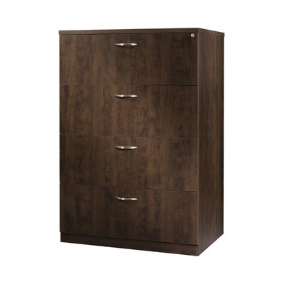 Laminate Lateral File Drawer Vertical Filing Cabinet Product Picture 1