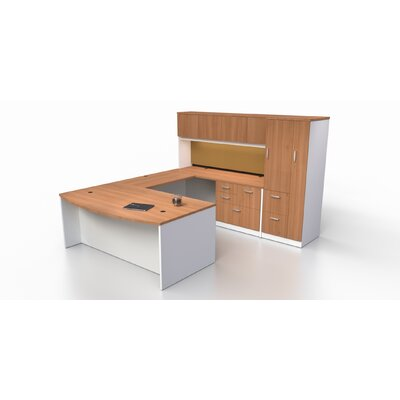 U Shape Desk Suite Tower Suite Product Photo