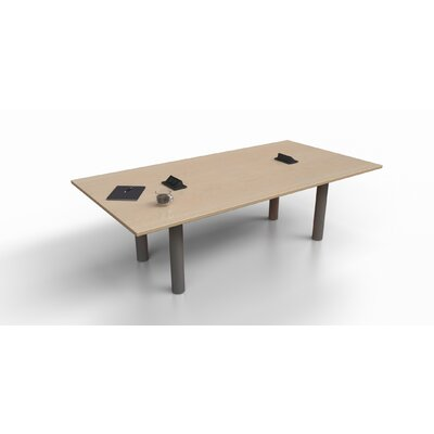 Rectangular 29.25H x 48W x 96L Conference Table Top Finish: Maple