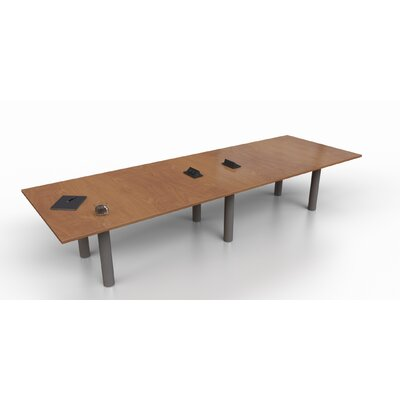 Rectangular 29.25H x 48W x 144L Conference Table Top Finish: Cherry, Size: 29.25 H x 144 W x 48 D