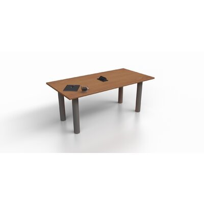 6 Rectangular Conference Table Top Finish: Cherry