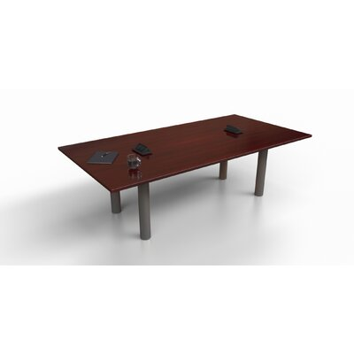 Rectangular 29.25H x 48W x 96L Conference Table Top Finish: Mahogany