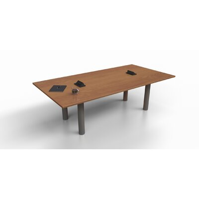 8 Rectangular Conference Table Top Finish: Cherry