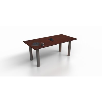 Rectangular 29.25H x 36W x 72L Conference Table Top Finish: Mahogany