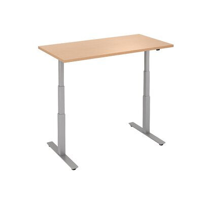 Express Height Adjustable Desk Base Size: 50.5 H x 48 W x 24 D