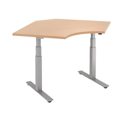 Curved Corner Height Adjustable Standing Table Product Picture 187