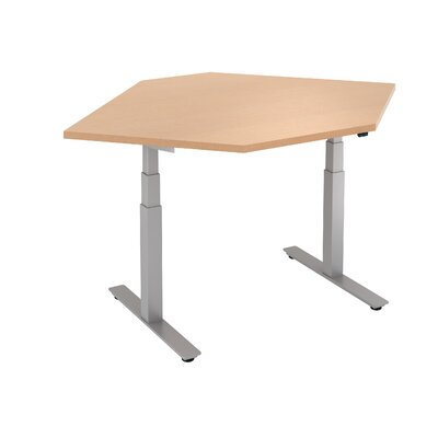 Straight Corner Height Adjustable Standing Desk Product Picture 187