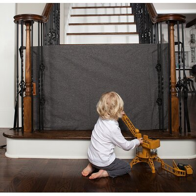 Banister to Banister Safety Gate Size: 32? H x 43?- 52? W, Finish: Heather Gray BBHGW-0216