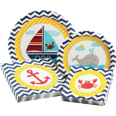Ahoy Matey Party Table Ware Kit 315697
