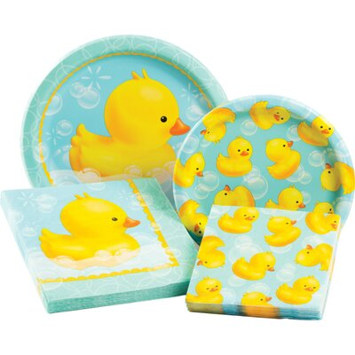 Bubble Bath Party Table Ware Kit 315719