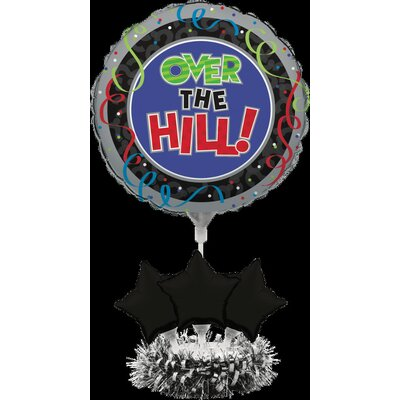 Over The Hil Balloon Centerpiece Kit