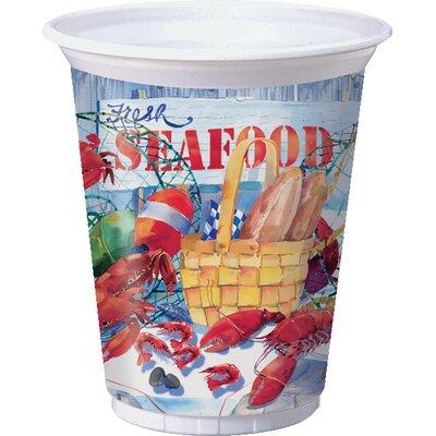 Seafood Celebration Plastic Cup 012325
