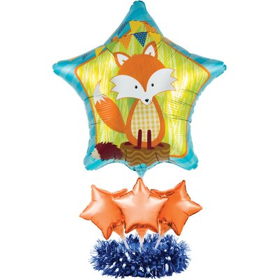 Forest Fox Balloon Centerpiece Kit