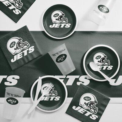 NFL Tailgating 56 Piece Dinner Plate Set NFL: New York Jets DTC9522C2B