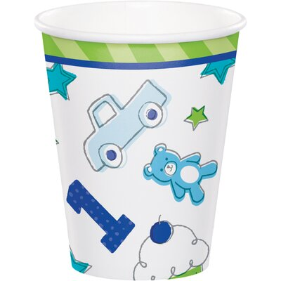 Doodle 1st Birthday 9 oz. Paper Everyday Cup DTC331769CUP