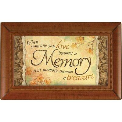 Decorative Memory Treasure Music Box