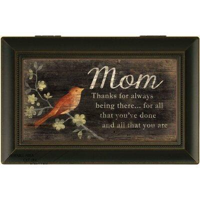 Decorative Thanks Mom Music Box
