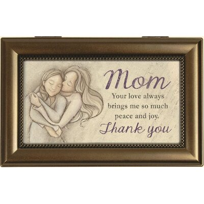 Decorative Mom Thank You Music Box
