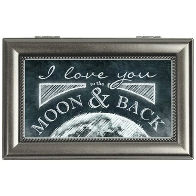 Decorative Moon And Back Music Box