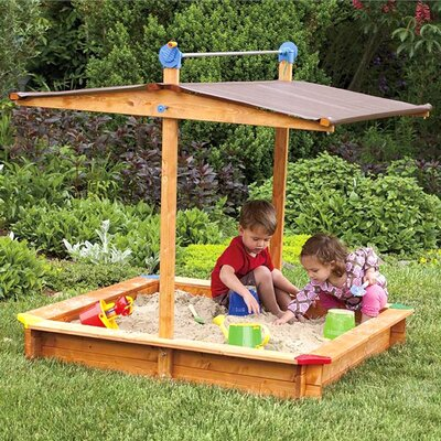 4.67 Square Sandbox with Cover