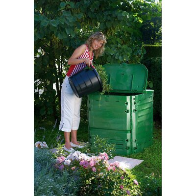 Graf 21.39 cu. ft. Stationary Composter Capacity: 21.39 cu. ft.
