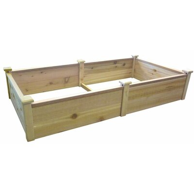 6 ft x 3 ft Cedar Raised Garden 4430