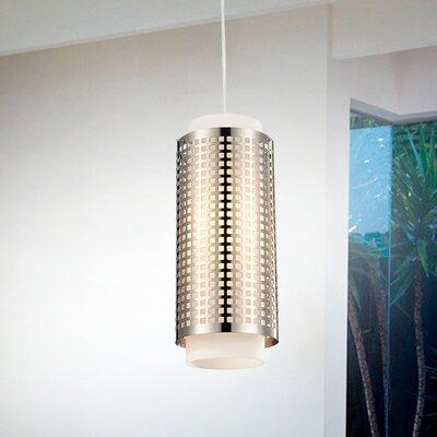 1-Light Mini Pendant Size: 60 H x 6 W x 6 D