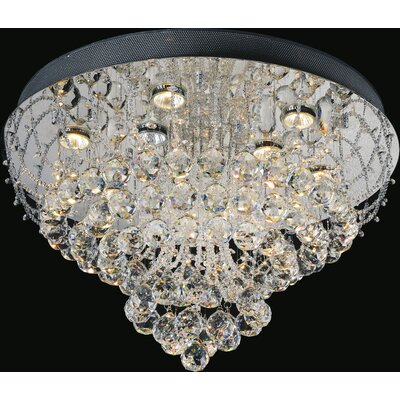 9-Light Flush Mount