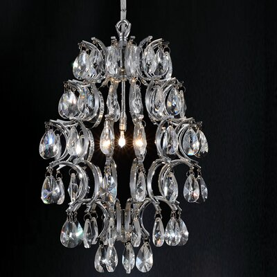 2-Light Pendant Finish: Clear