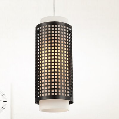 1-Light Mini Pendant Size: 60 H x 5 W x 5 D
