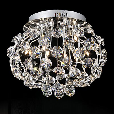 15-Light Flush Mount