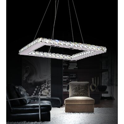 Ring 20-Light Crystal Chandelier
