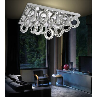 Ring 90-Light LED Flush Mount