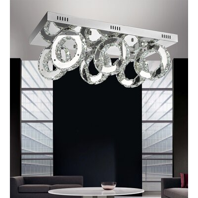 Ring 36-Light LED Flush Mount