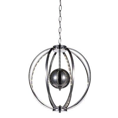 Jacquimo 8-Light Sputnik Chandelier Size: 93 H x 18 W x 18 D