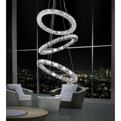 Ring 54-Light Crystal Chandelier
