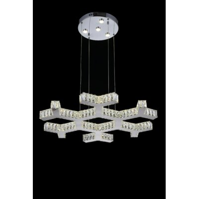 Arendelle LED Light Crystal Chandelier