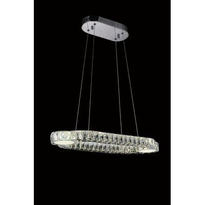 Drew LED Light Crystal Chandelier
