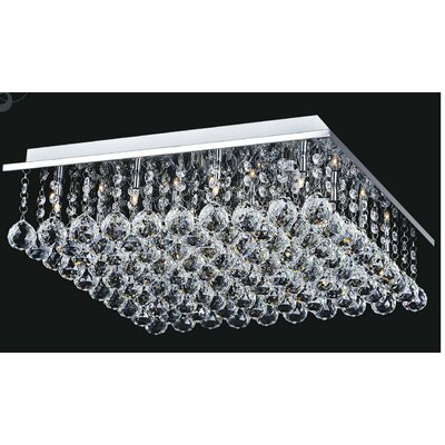 Sparkle 9-Light Flush Mount